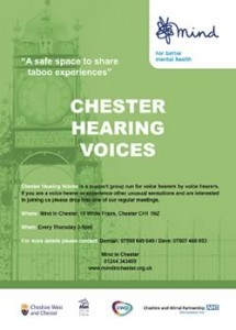Chester Hearing Voices Poster