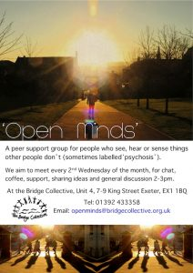 Open Minds Flyer