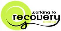 Working To Recovery Logo