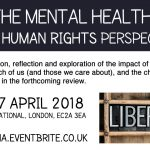 Event on the Mental Health Act and HVN AGM (April)