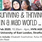 Surviving & Thriving in a Mad World: HVN Event