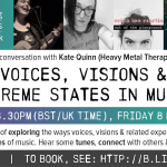 Online Gathering: Voices, Visions & Extreme Experiences in Music - 8/5/20