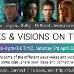 Voices & Visions on the TV: Online event